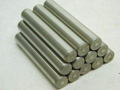 "12 PACK! 3/8"" x 2-1/2"" Dowel Solid Alloy Steel Pin EZ Sockets Brand HF"