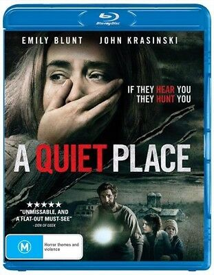 A QUIET PLACE (Blu-ray, 2018) 🍿 [BRAND NEW & SEALED]
