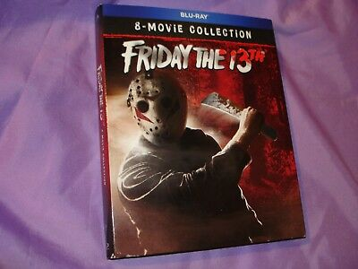 Blu Ray Friday The 13 Ultimate Movie Collection Oops Rare Slip Cover Sealed U.s.