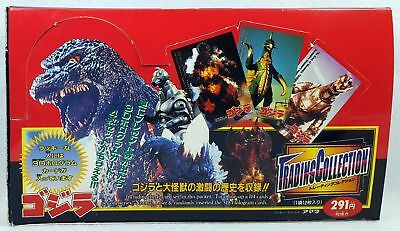 Japanese Kaiju Godzilla Trading Collection - Trading Card Box - JPP/Amada 1995
