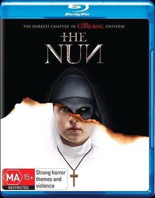 THE NUN (Blu-ray, N/A) 🍿 [BRAND NEW & SEALED]