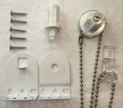Metal Roller Blind Fittings Parts Repair Spare Kit 25mm - Quality Blind Brackets