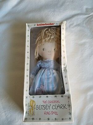 Besty Clark Doll Knickerbocker, Hallmark