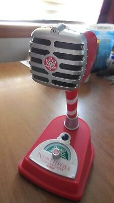 Hallmark North Pole Communicator Interactive Microphone Used 1yr Good Condition
