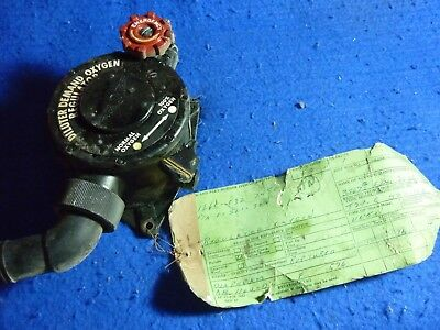 Vintage Aircraft Oxygen Demand Diluter Regulator b-17 p-51 b-24 etc