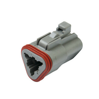 DEUTSCH DT06-3S DT Series 3-Way Plug