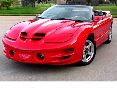 1998 Pontiac Firebird Trans Am 2dr Convertible WS6 71K MILES CLASSIC CAR OLD SCHOOL ANTIQUE RESTOMOD MUSCLE CAR CHEVELLE CHARGER ROAD RUNNER