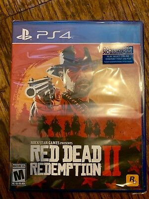 Red Dead Redemption 2 - PS4 Brand New Factory Sealed Playstation Exclusive