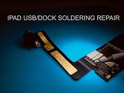 iPad Mini 2/3 Dock Connector USB Connector Replacement Soldering Repair service