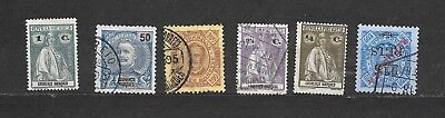 CINA FORMOSA   -  8 STAMPS lot lotto