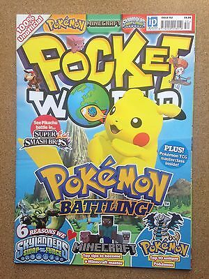 Magazine - POCKET WORLD Issue 152 Pokemon Moshi Monsters Minecraft Skylanders