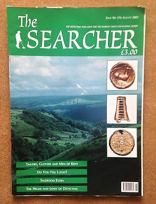 Magazine - SEARCHER Treasure Hunting Iss 216 Aug 2003 Full contents INDEX SHOWN