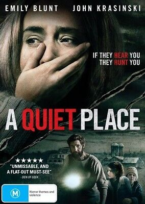 A Quiet Place (Dvd, 2018) 🍿 [Brand New & Sealed]