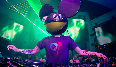 Deadmau5 Set Collection 2007 - 2019 on 4 x DVDs in MP3 Format