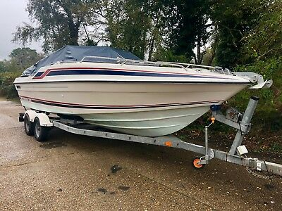 ⭕️⭕️⭕️ Sunseeker Mexico 24ft Speed, Sports, Power Boat V8 px swap