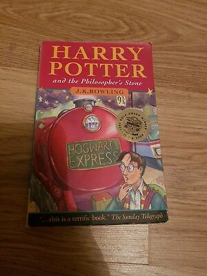 HARRY POTTER AND THE PHILOSOPHERS STONE  J.K. ROWLING, Used;