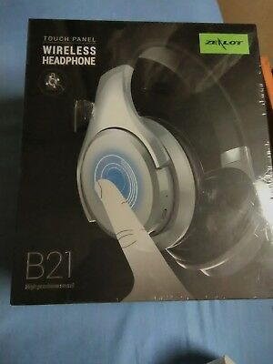 871be3232e3 Wireless headphones Bluetooth noise cancelling with touch control (zealot  b21)