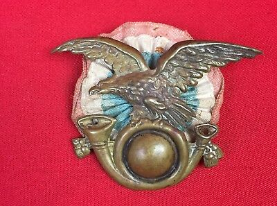 Ww2 Ww1 Italian Fascist Tropical Pith Helmet Badge Alpini Original Wwii Wwi