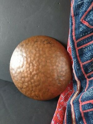 Old Hand Beaten Copper Bowl  …beautiful accent / display piece...