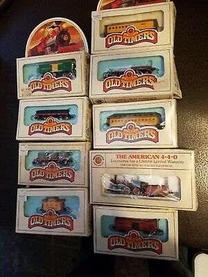 Vintage Bachmann HO Electric Train Set N Scale Old Timers Lot