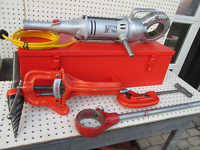 RIDGID 700  PIPE THREADER  w EXC. to NEW NPT 12R heads and dies Set EXC. TOOL