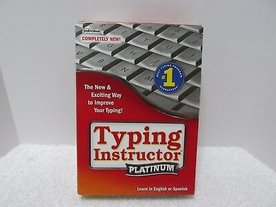 Typing Instructor Platinum 21 software (2014) English and Spanish