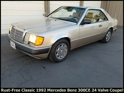 1992 Mercedes-Benz 300-Series 300CE RARE 1992 MERCEDES BENZ 300CE COUPE!  RUST-FREE CALIFORNIA CAR @ NO RESERVE!