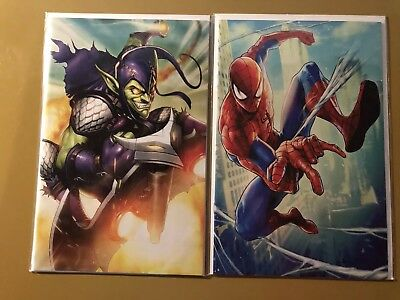 Amazing Spider-Man #7 & #8 MARVEL COMIC Battle Lines Variant 2018 Spencer Ramos