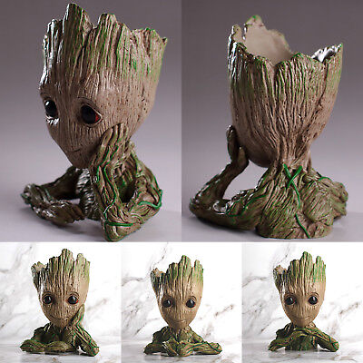 14cm Guardians Of The Galaxy Vol. 2 Baby Groot Figur Blumentopf Stil Stifthalter