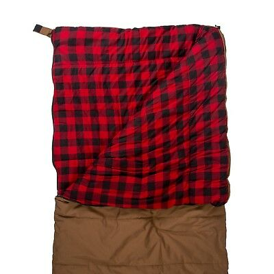 Stansport Kodiak Canvas Flannel -10 Degrees Sleeping Bag