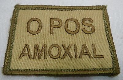 PLATATAC O POS AMOXIAL Blood Group Patch KHAKI / OLIVE