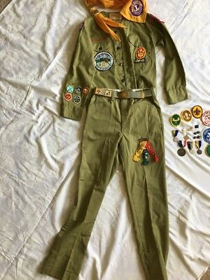 1970's Boy Scout Uniform