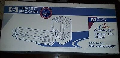 Genuine HP 110 Volt Color Laserjet Fuser Kit  8500/8550 C4155A  (Sealed in Box)!