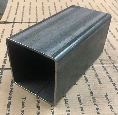 "5"" X 5"" X 10"" Steel Square Tube 3/16"" Wall Tubing Steel Brace Support Welding"
