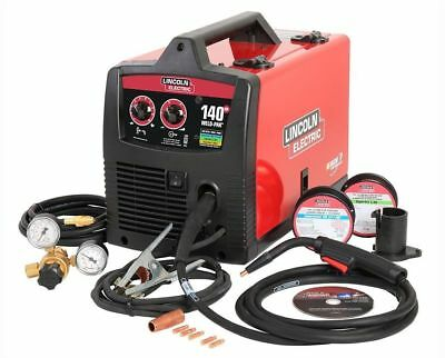 Feed Welder Lincoln Electric 120-Volt 140 Amp Weld Pak 140 HD MIG Flux Wire FSH