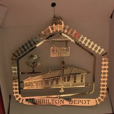 Laser Cut 24K Finish Brass 5th Edition Morrilton Depot Morrilton Arkansas NIB