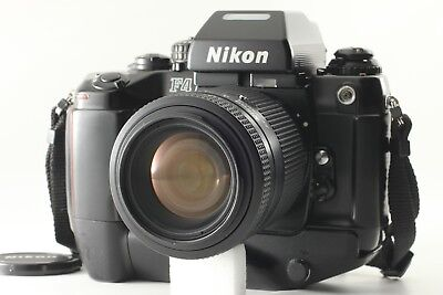 Nikon F4s 35mm SLR Film Camera W/MB-21 W/AF NIKKOR 35-105mm F3.5-4.5 *Exc5* JP