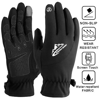 Ultra-Thin Liner Under Gloves Winter Soft Thermal Fleece Touch Driving Cycling