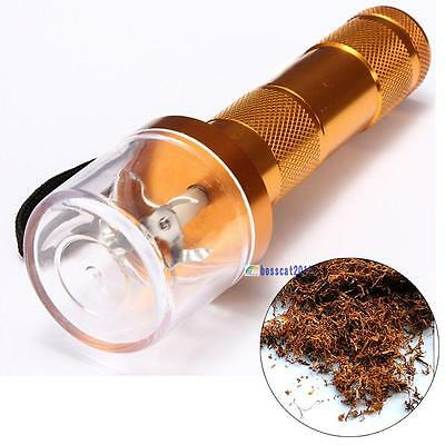 Electric Allloy Metal Grinder Crusher Crank Tobacco Smoke Spice Herb Muller B GL