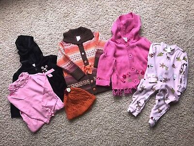 Lot of Girls 6 Gymboree, Old Navy, Pottery Barn Kids Tops, Sweaters, PJ's 12-18M