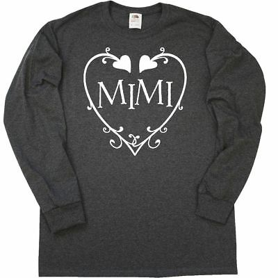 Inktastic Gigi With Hearts And Swirls Long Sleeve T Shirt Valentines