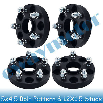 "1"" Wheel Spacers 5x4.5 for MDX 2001 2002 2003 2004 2005 2006 2014 2015 2016 2017"
