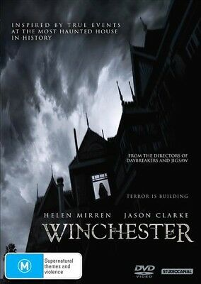 Winchester (Dvd, 2018) 🍿 [Brand New & Sealed]