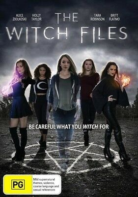 The Witch Files (Dvd, 2018) 🍿 [Brand New & Sealed]