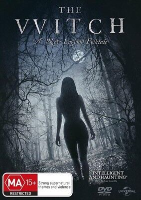 The Witch (Dvd, 2016) 🍿 [Brand New & Sealed]