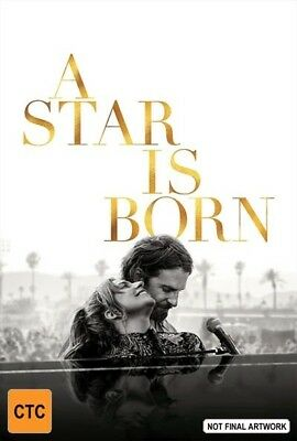 A STAR IS BORN (Blu-ray, N/A) 🍿 [BRAND NEW & SEALED]