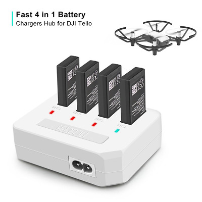 RCstyle Update DJI Tello Drone 4 In1 Rapid Parallel Smart Multi Battery Intellig