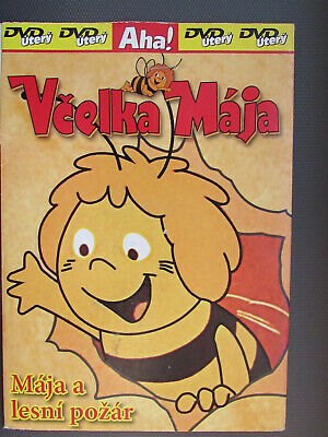 Vcelka Maja a Lesni pozar / Maya The Bee 1975 Czech Animated DVD