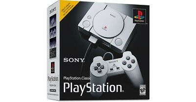 Sony PlayStation Classic Console Mini In Hand