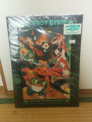 Cowboy Bebop Halloween portrait print licensed RARE sealed Bandai